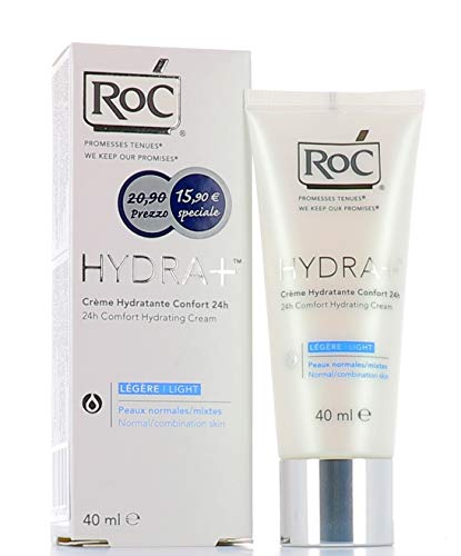 RoC Hydra+ Crema Idratante Viso Comfort 24h Texture Leggera 40 ml
