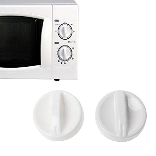 Folewr 2 unids universal microondas horno carrete de plástico giratorio perilla temporizador interruptor de control nuevo