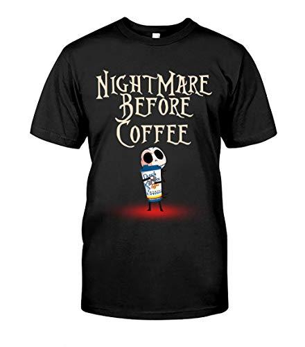 Halloween Nightmare Before Coffee Dutch-Bros Jack Skellington T Shirt