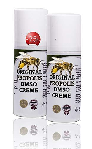 Leivys DMSO Creme -Salbe mit hochwertigem Propolis und Dimethysulfoxid 99,9%, bequeme Anwendung, effektive Wirkung 100ml