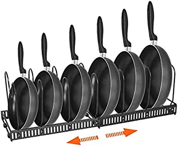 HOMEACC Pot Organizer Rack for Cabinet