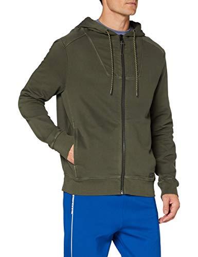 camel active Herren 4093124F0739 Sweatshirt, MUD, XL