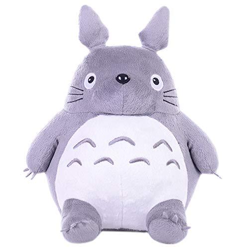 Totoro Juguetes de Peluche Animal de Peluche Que Abraza la Almohada, Cojín de la Historieta Suave de la Felpa de Totoro Linda Muñeca De la Boda (20cm/7.87in)