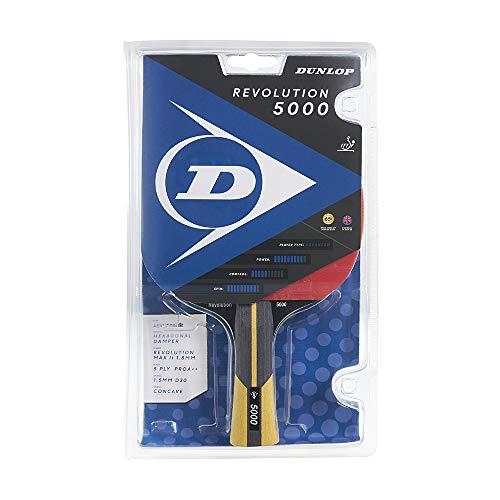 Dunlop Revolution 5000 Tischtennisschläger, ITTF zertifizierter TT Schläger, perfekt für fortgeschrittene Vereins- und Turnier- Spieler