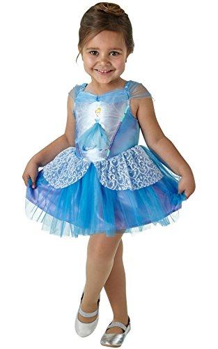 Rubie's- Disney Princess Déguisement de Ballerine Cendrillon pour Enfant Taille S 3-4 Ans Hauteur 104 cm, 640178S