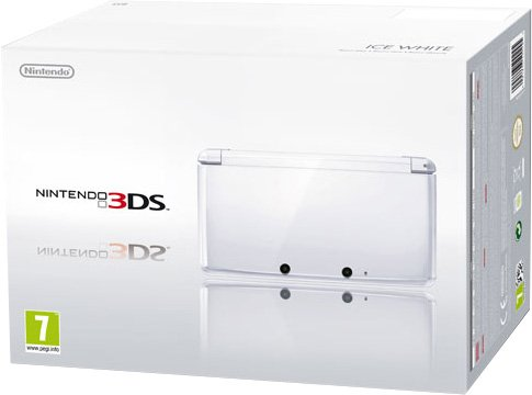 Nintendo 3DS - Konsole, schneeweiß [ES-IT-PT Version]