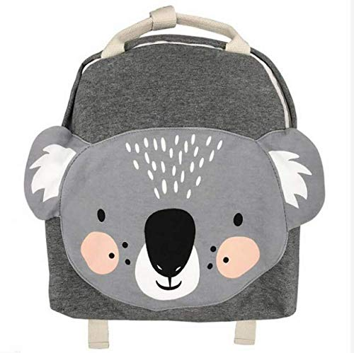 COMPY Kindergarten Backpack plush bag Nordic Animal Series Children's School Bag Cute Rabbit Plush Backpack Toys Storage Bag,3