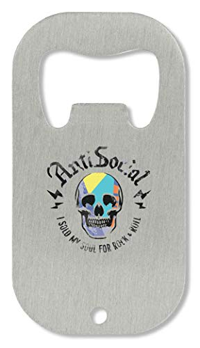 xx Anti Social Sold My Soul Rock & Roll Cool Flaschenöffner