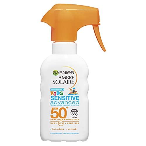 Ambre Solaire Kids Sensitive Sun Cream Trigger Spray SPF50+ 200ml