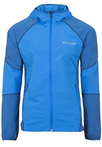 Columbia Herren Softshelljacke Sweet AS II Hoodie, Hyper Blue, XL, WM3257