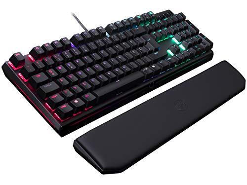 Cooler Master MasterKeys MK750, mechanische Gaming Tastatur (Cherry MX Red, gepolsterte Handballenauflage, RGB-Beleuchtung, dedizierte Media-Tasten)