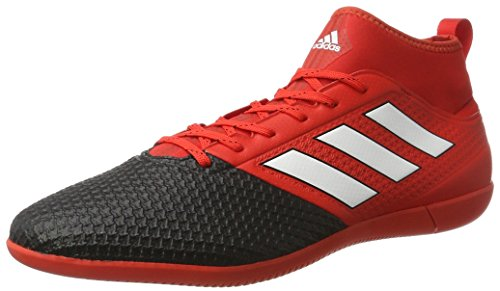 adidas Bb1763 Ace 17.3 Primemesh, Scarpe da Calcio Uomo, Rosso (Red/ftwr White/core Black), 45 1/3 EU
