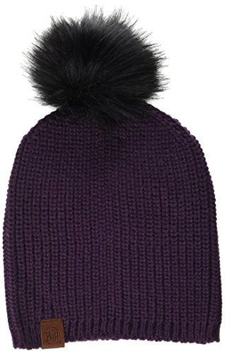Buff BH115405.621.10.00 BH Knitted Hat ADALWOLF Blackberry Unisex-Adult, no, Taille Unique