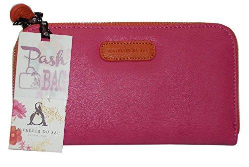 Portefeuille Pashbag by L'atelier du mod 4416 porte monnaie sac Orange