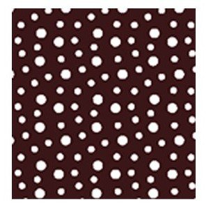 American Chocolate Designs Chocolate Transfer Sheet - Dots - White