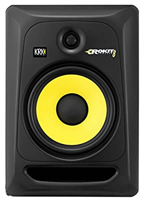 KRK RP8G3 ROKIT 8 G3 2-Way Powered Studio Monitor (Discontinued), Black, 8-Inch RP8G3NA by KRK