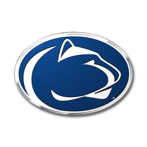 FANMATS Penn State Heavy Duty Aluminum Color Emblem