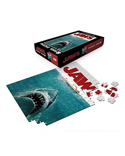 Horror-Shop Jaws Lo Squalo Bianco Puzzle 1000 Pezzi