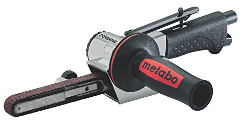 Metabo Druckluft-Bandfeile DBF 457 (601559000) Karton, Arbeitsdruck: 6.2 bar, Luftbedarf: 400 l/min, Schleifbandbreite: 13 mm