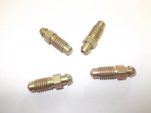 Innovo Lot de 4 vis de purge de frein 8 mm x 1,25 mm pour Kawasaki Freinage voitures, camionnettes, camions