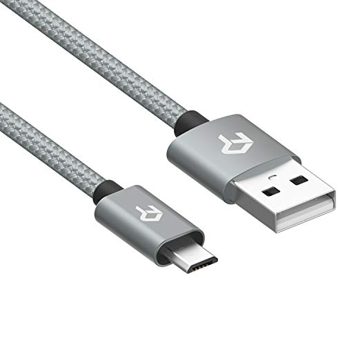 Rankie Micro USB Cable, Nylon Braided Extremely Durable, Data and Charging, 6 Feet