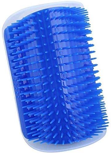 YYhkeby Gato de autolimpieza Accesorios for el Cabello, Cepillo de Masaje eliminación del Vello, Verde Claro, 13 cm x 9 cm Jialele (Color : Blue, Size : 13cm X 9 cm)