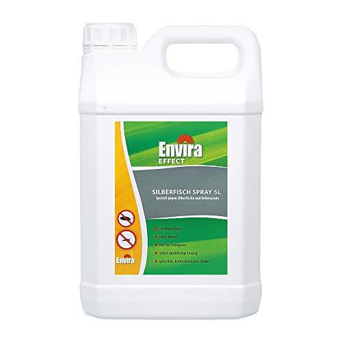Envira Silberfisch-Spray - Anti-Silberfisch-Mittel Mit Langzeitwirkung - Geruchlos & Auf Wasserbasis - 5 Liter