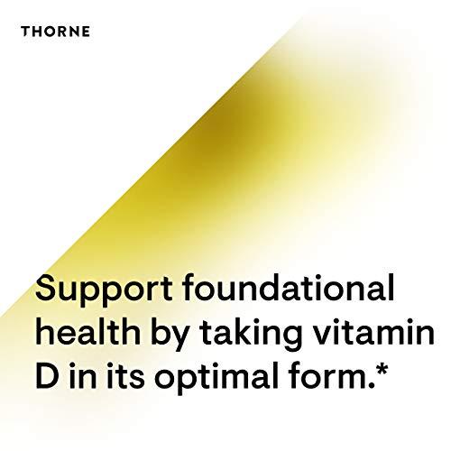 Thorne Research Vitamin D3 5,000 IU-60 Capsules