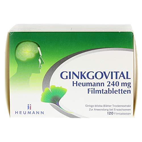 Ginkgovital Heumann 240 mg, 120 St. Filmtabletten