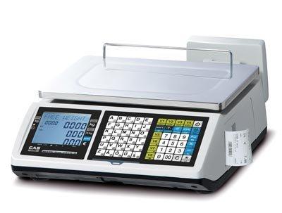 Balance poids prix à ticket caisse enregistreuse - CAS CTF-100 6/15kg - Conforme loi fiscale 2018