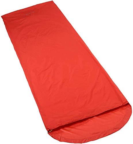 VAUDE Bivouac I.2Bivouac Sack–Glowing Red, 82x 210x 55cm