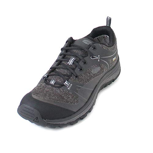 KEEN Terradora Waterproof, Chaussures de Randonnée Basses Femme, Gris (Raven/Gargoyle 0), 38.5 EU