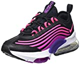 Nike W Air MAX ZM950, Zapatillas para Correr Mujer, Black Hyper Pink Vivid Purple Court Purple White Pink Blast, 39 EU
