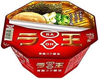 Nissin - Raoh, Japanese Instant Noodles, Soy Sauce Soup, 4.3oz X 6bowls (For 6 servings)[japan Import]
