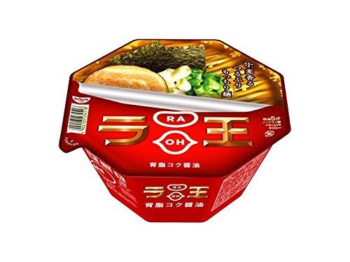 Nissin - Raoh, Japanese Instant Noodles, Soy Sauce Soup, 4.3oz X...