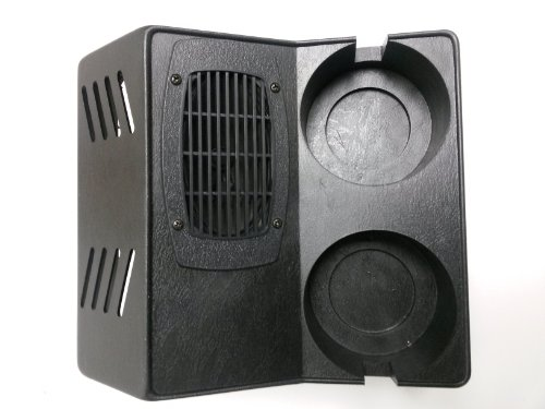 Workman CB Radio Hump Mount With Speaker and Cup Holders