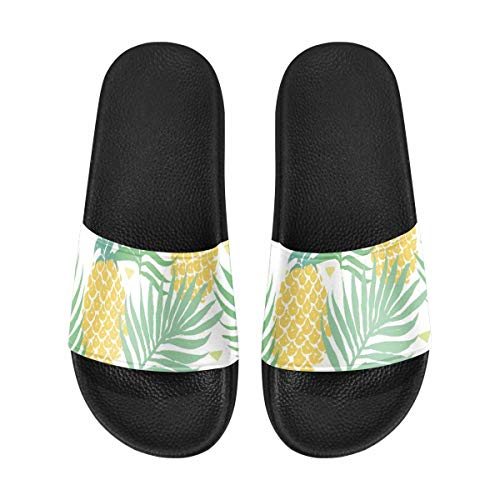 INTERESTPRINT Women's Slide Sandals Water Shoes for Beach and Pool 11...
