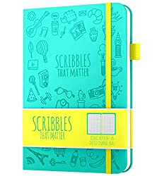 scribbles that matter iconic journal notebooks in green