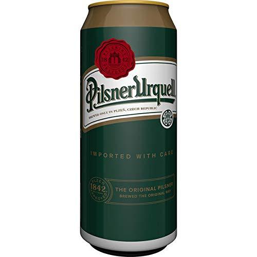 24 Dosen a 0,5L Pilsener Urquell Orginal Bier inc. 6.00€ Einweg Pfand Tschechien