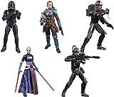 Star Wars The Black Series: Hunter, Crosshair, Asajj Ventress, Bo-Katan Kryze, Squad Trooper Set de figuras