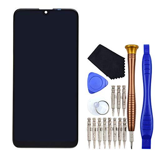 VEKIR Schwarz LCD Touchscreenizer Bildschirm anzeigen 626 Ersatz fur Huawei Y7 2019
