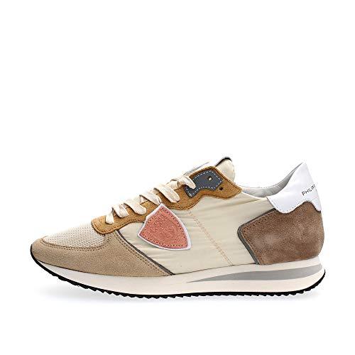 PHILIPPE MODEL PARIS TZLD W061 Tropez X Sneakers Femme Beige 38