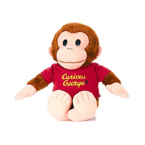 KIDS PREFERRED Curious George Monkey Plush - Classic George 8' Stuffed Animal