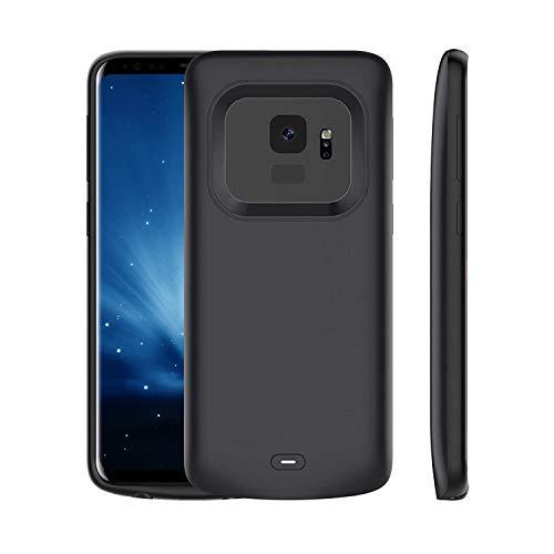 Funda para Samsung Galaxy S9 Plus,5200mAh,batería recargable y ampliada,batería portátil protectora,para Samsung Galaxy S9 Plus (6,2')