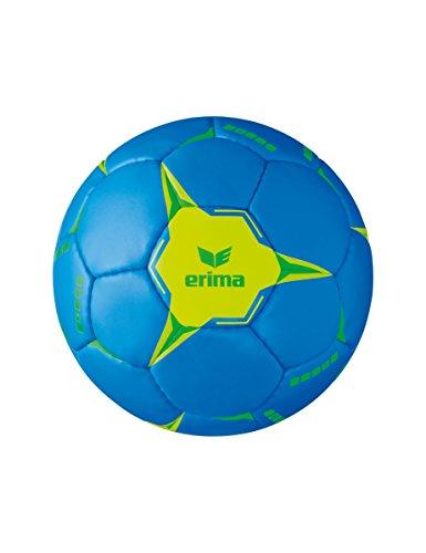 Erima G13 2.0 Training Handball, blau/Lime, 2