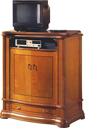 Destock Meubles Meuble TV bar 2 portes 1 tiroir
