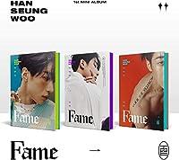ビクトン ハン・スンウ - FAME (1st Mini Album) Album+Folded Poster (HAN+SEUNG+WOO ver. SET)[KPOP MARKET特典: 追加特典両面フォトカードセット][韓国盤]