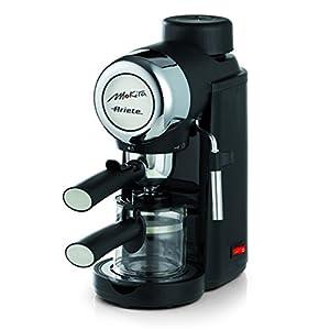 Ariete 1340 Mokita – Cafetera espresso, color negro