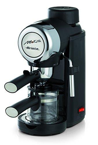 Ariete 1340Siebträger-Retro-Kaffeemaschine Mokito mit Milchaufschäumdüse