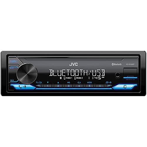 JVC KD-SX26BT Bluetooth Car Stereo Receiver with USB Port – AM/FM Radio, MP3 Player, High Contrast...